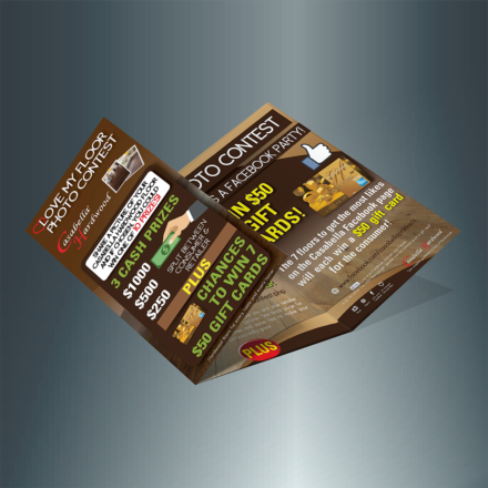 Contest Trifold Brochure